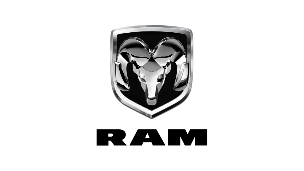 ram car key fob replacement logo