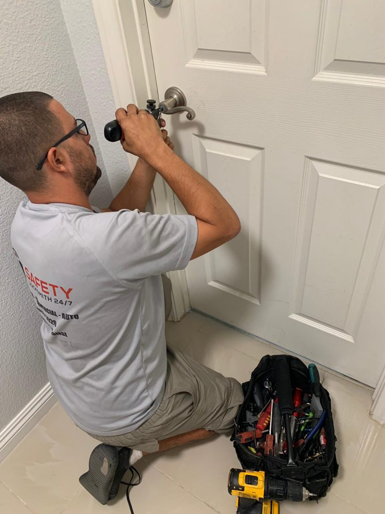 house lock change by locksmith in las vegas
